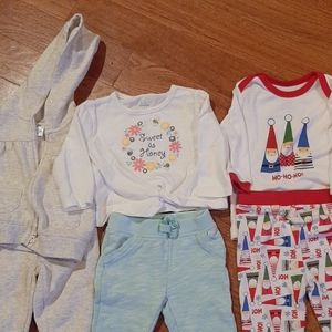 4/$19 Carters, Koala kids, Christmas lot
